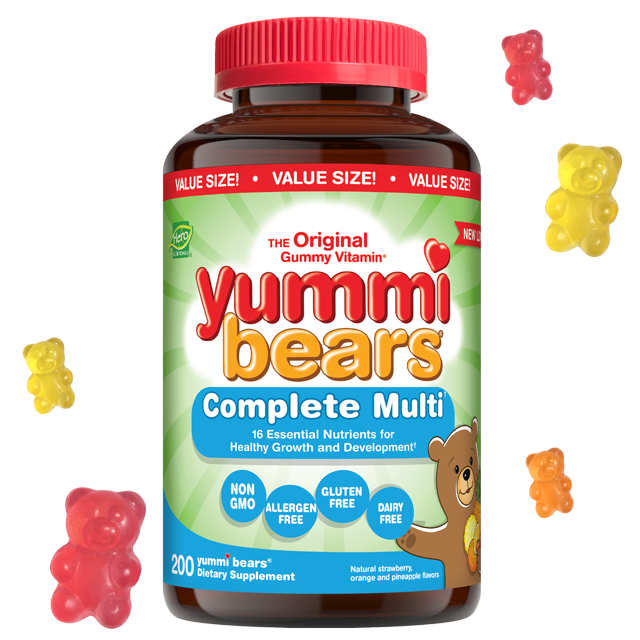 Yummi bears- Complete Multi- Value Size