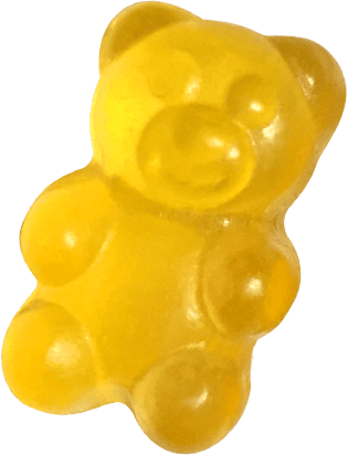 yellow yummi bear