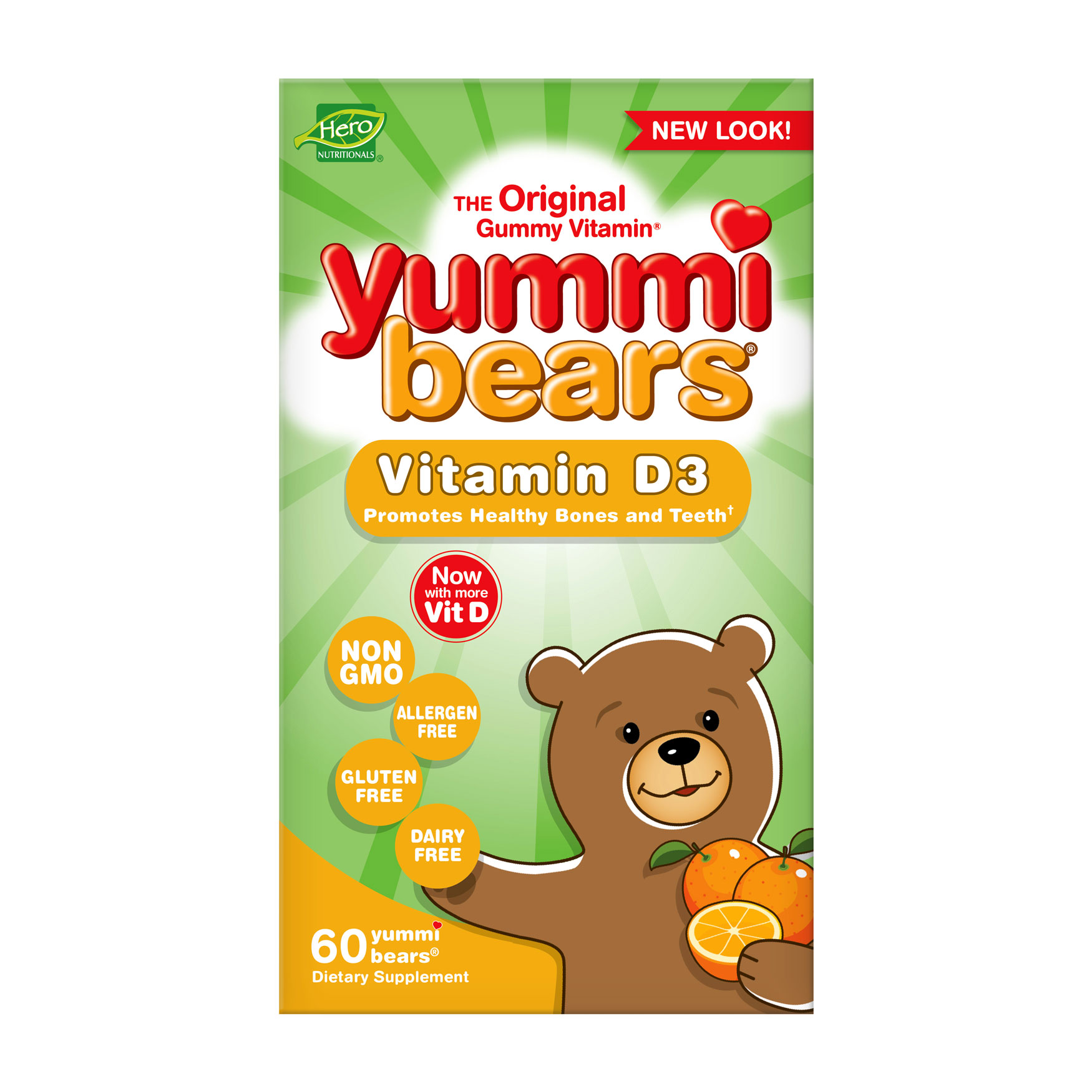 Yummi Bears- Vitamin D3