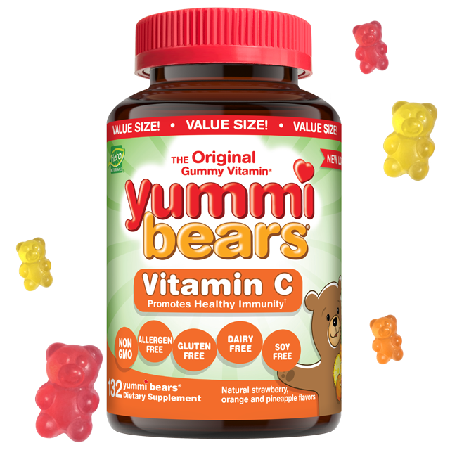 Yummi Bears- Vitamin C- Value Size